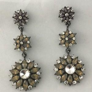 Jewelry - Multi Tonal Crystal Earrings